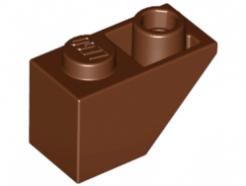 Lego alkatrész - Reddish Brown Slope, Inverted 45 2x1