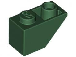Lego alkatrész - Green Slope, Inverted 45 2x1