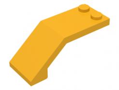 LEGO Alkatrész - Bright Light Orange Windscreen 5x2x12/3