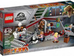 LEGO Jurassic Park velociraptor üldözés
