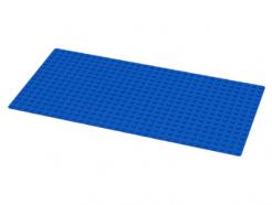 Lego alkatrész - Blue Baseplate 16x32
