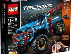 Lego Technic - 6x6-os terepjáró vontató - 42070