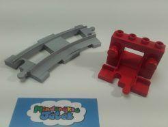 Lego Duplo - Vasúti ütköző
