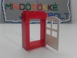 LEGO Duplo - Piros keretes ajtó