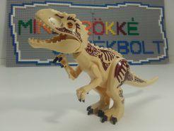 Dinoszaurusz figura - Homok színű T-rex