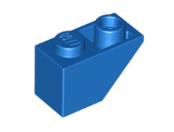 Lego alkatrész - Blue Slope, Inverted 45 2 x 1