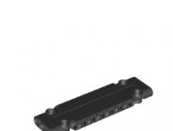 Lego alkatrész - Black Technic, Panel Plate 3 x 11 x 1
