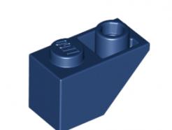 Lego alkatrész - Dark Blue Slope, Inverted 45 2 x 1