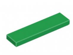 LEGO alkatrész - Green Tile 1 x 4