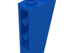 Lego alkatrész - Blue Slope, Inverted 75 2 x 1 x 3