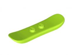 LEGO alkatrész - Lime Minifigure, Utensil Snowboard Small