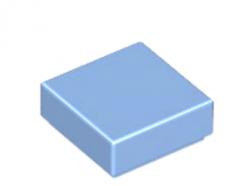 LEGO alkatrész - Medium Blue Tile 1 x 1 with Groove