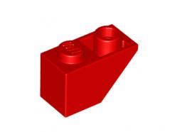 Lego alkatrész - Red Slope, Inverted 45 2 x 1