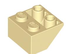 Lego alkatrész - Tan Slope, Inverted 45 2 x 2