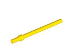 Lego alkatrész - Yellow bar 6L with stop ring