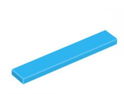 LEGO alkatrész - Dark Azure Tile 1 x 6