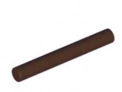 LEGO alkatrész - Dark Brown Bar 3L (Bar Arrow)