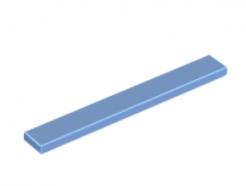 LEGO alkatrész - Medium Blue Tile 1 x 8