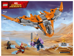 LEGO Super Heroes - 76107 Thanos: Ultimate Battle