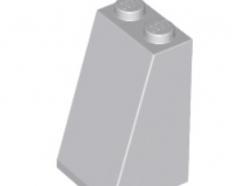 LEGO alkatrész - Light Bluish Gray Slope 75 2 x 2 x 3 - Solid Studs