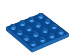 LEGO alkatrész - Blue Plate 4 x 4