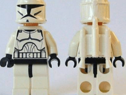 LEGO minifigura - Clone Jet Trooper (Clone Wars)