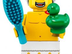 LEGO gyűjthető minifigura col19-02 - Shower guy