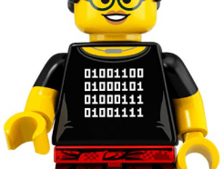 LEGO gyűjthető minifigura col19-05 - Programmer