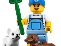 LEGO gyűjthető minifigura col19-09 - Dog keeper