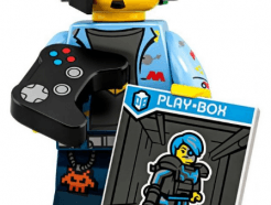 LEGO gyűjthető minifigura col19-01 - Video game champ