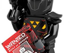 LEGO gyűjtheő minifigura col19-11 - Galactic bounty hunter