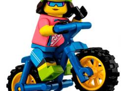 LEGO gyűjthető minifigura col19-16 - Mountain biker