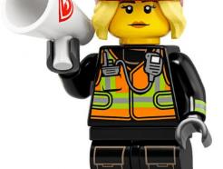 LEGO gyűjthető minifigura col19-08 - Fire fighter