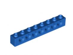 LEGO alkatrész - Blue technic brick 1x8