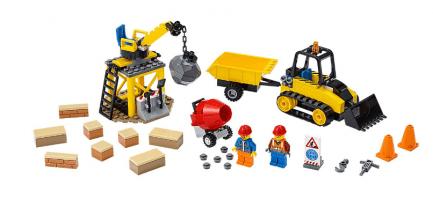 Lego - City 60252 - Építőipari buldózer