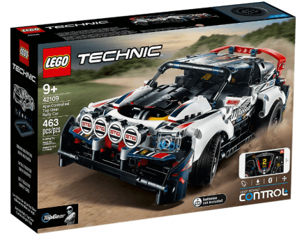 Lego - Techic 42109 - tbd-R-Car