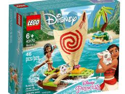 Lego - Disney Princess 43170 - Vaiana kalandja az óceánon