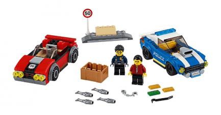 Lego - City 60242 - Rendőrségi letartóztatás az országúton