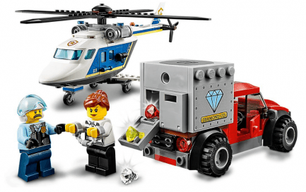 Lego - City 60243 - Rendőrségi helikopteres üldözés