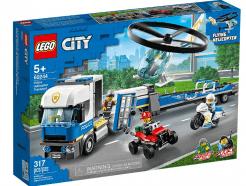 Lego - City 60244 - Rendőrségi helikopteres szállítás