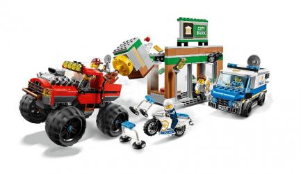Lego - City 60245 - Rendőrségi teherautós rablás