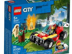 Lego - City 60247 - Erdőtűz