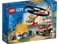 Lego - City 60248 - Sürgősségi tűzoltó helikopter