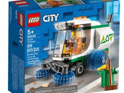 Lego - City 60249 - Utcaseprő gép