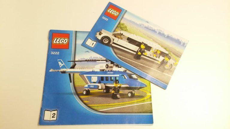 h3222/2 - LEGO City 3222- Helikopter és limuzin (Használt ...
